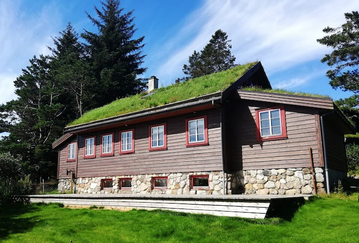 Feriebolig, nærmeste mulige til Steinkjerringa.
