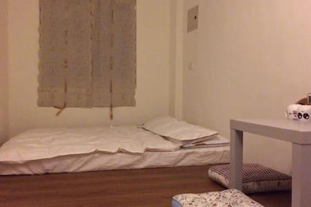 花莲市区便利超值双人和室套房 独立卫浴 舒适温馨