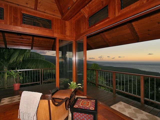 Unobstructed Panoramic Ocean Views From Living Room