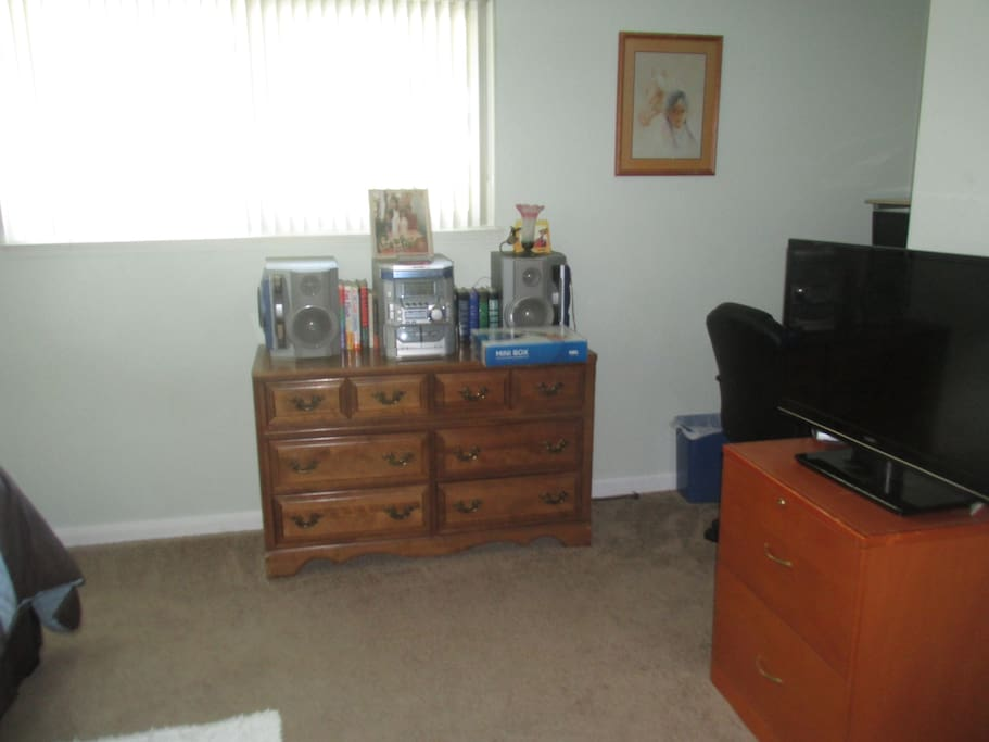Dresser and Stereo