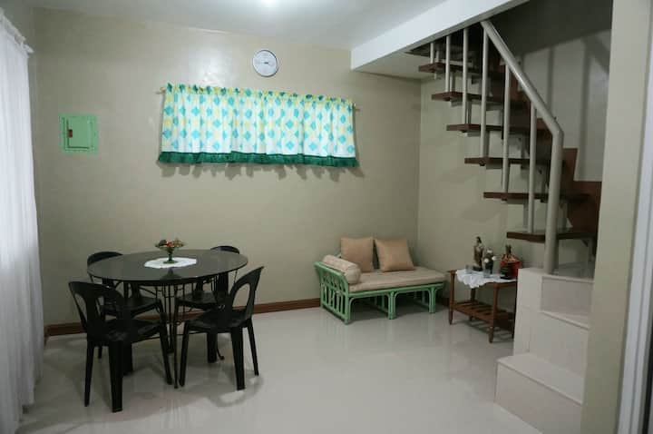 Semi-furnished NewlyBuilt Two Storey Apartment