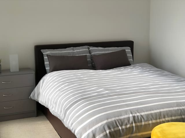 Double bedroom with ensuite bathroom and balcony
