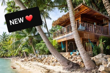 NEW TREEHOUSE Romantic ❤Beach Front home HIN KONG.
