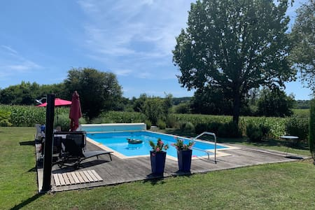 Lovely gites with private pool & privacy