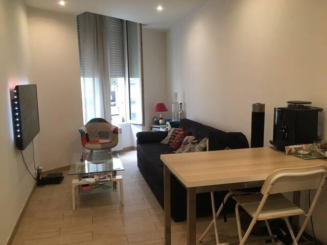 Appartement de 2 à 4 personnes centre de bordeaux.