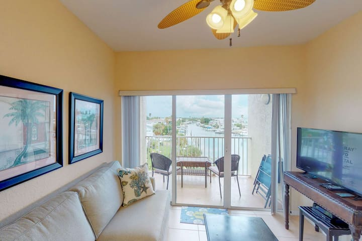 Great Value in a Waterfront Resort.  Marina View from Private Balcony.