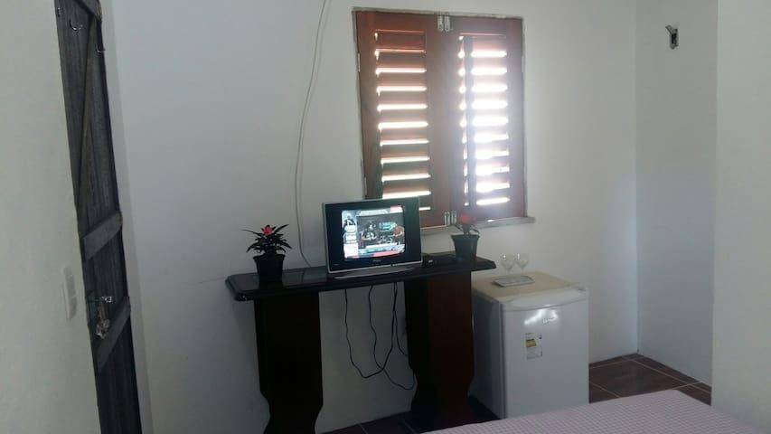 Apartamento à 300 metros do centro de Guaramiranga