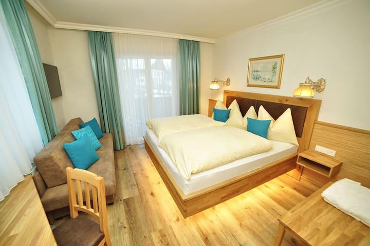 Doppelzimmer Komfort im Hotel Glocknerhof