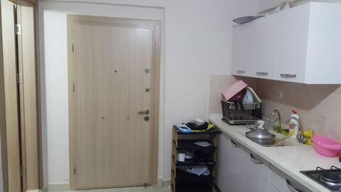 tek kişilik şirin ve mütevazi özel oda