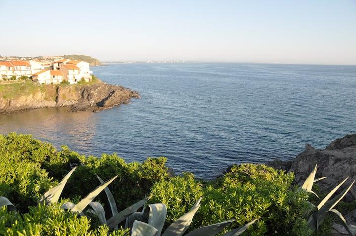 Maison de vacances face à la mer
