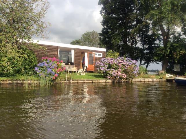 Vakantie huis aan het water - Reeuwijk - Cabin