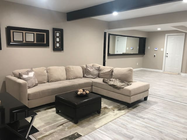 Luxury West End Basement -In Law Suite w/bathroom