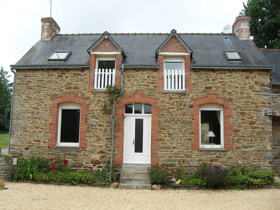 Rural brittany farmhouse gite rurale bretagne cottages for Gite rurale