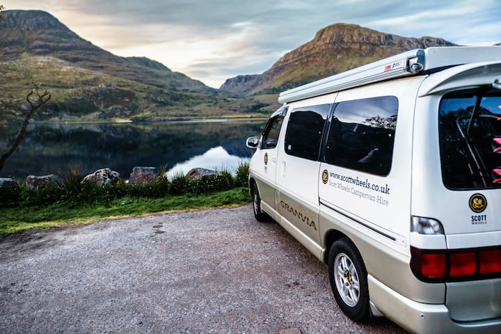 ScottWheels Campervan Hire - Alex The Campervan