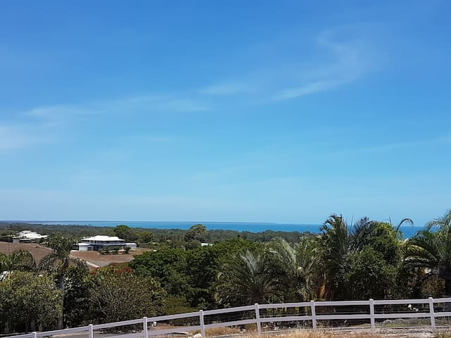 Ocean Views from Craignish (10min from Hervey Bay) - Craignish - Daire