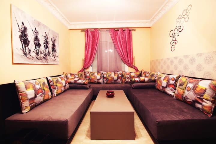Charmant appartement 1-4 personnes à Guéliz