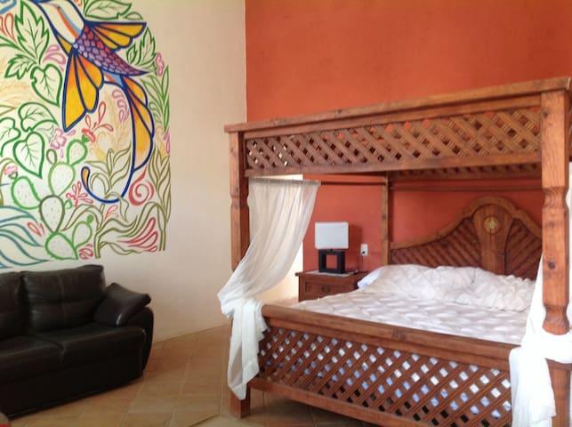 El colibrí habitacion especial!!! - Huamantla - Bed & Breakfast