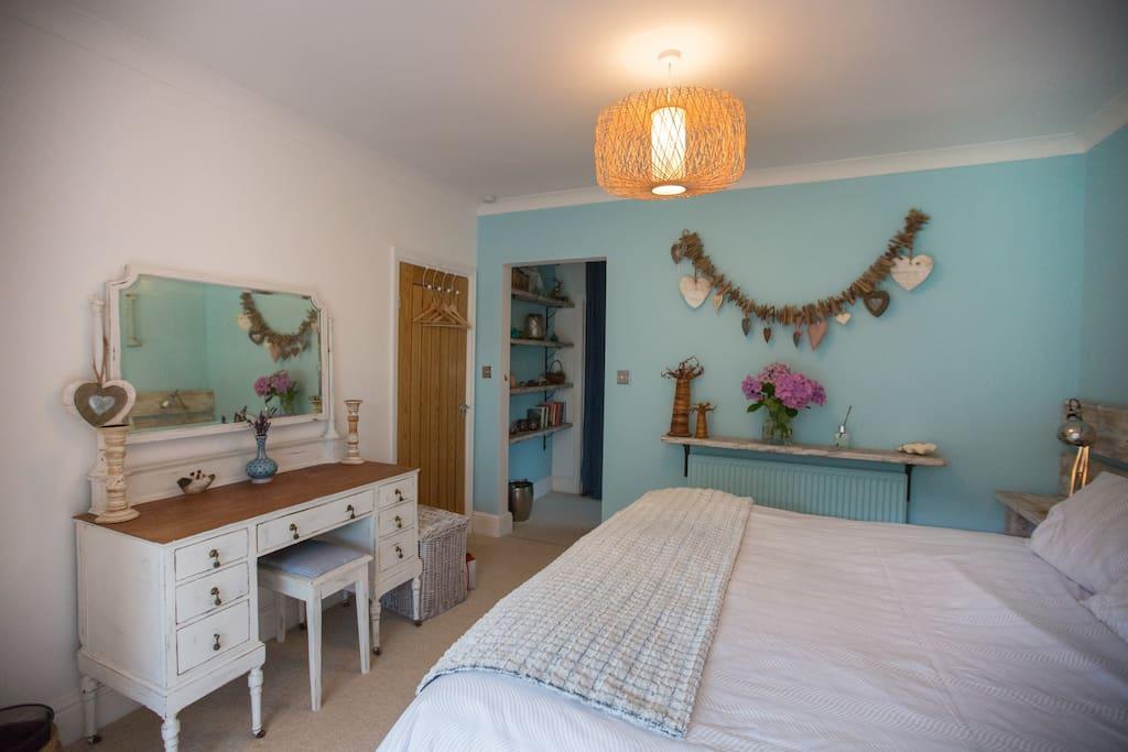 Badger's Holt bedroom