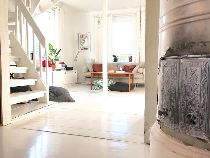 Cosy family home at the center of Salo