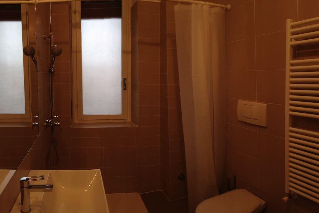Il bagno della doppia
