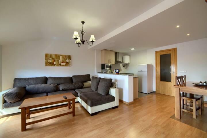 Apartamentos Rurales Sierra de  Gudar - Apartamento 1 habitación (4  personas máximo).  - Descuento 10% Estancia mínima de 3 Noches