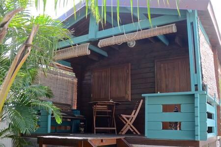 Gecko bungalow sous les tropiques - 聖勒(Saint-Leu)
