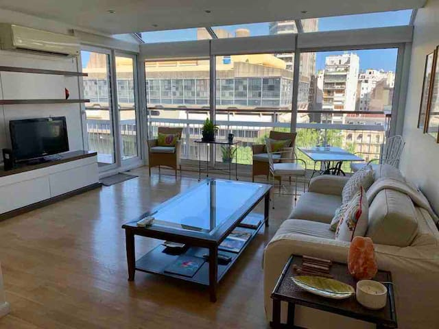Great view & location in Recoleta, near Palermo!!