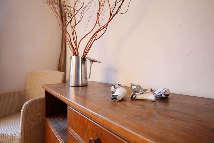 Romantisches App, 2-4 Pers, 60 m², Nähe Binz