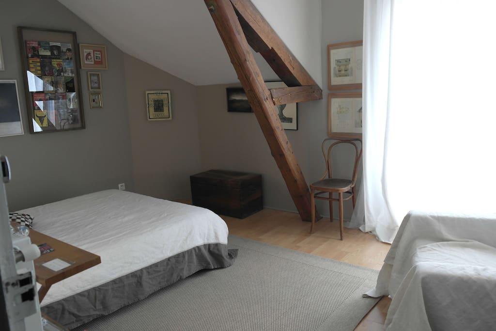 maison atelier d 39 artiste bellerive proche creps maisons louer bellerive sur allier. Black Bedroom Furniture Sets. Home Design Ideas