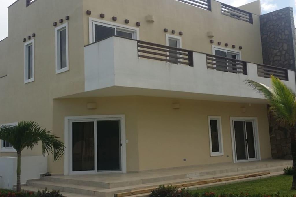 View facing Villa