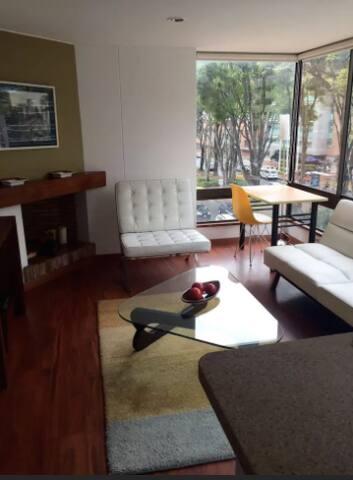 Modern & Bright Parque 93 - Bogotá - Apartment