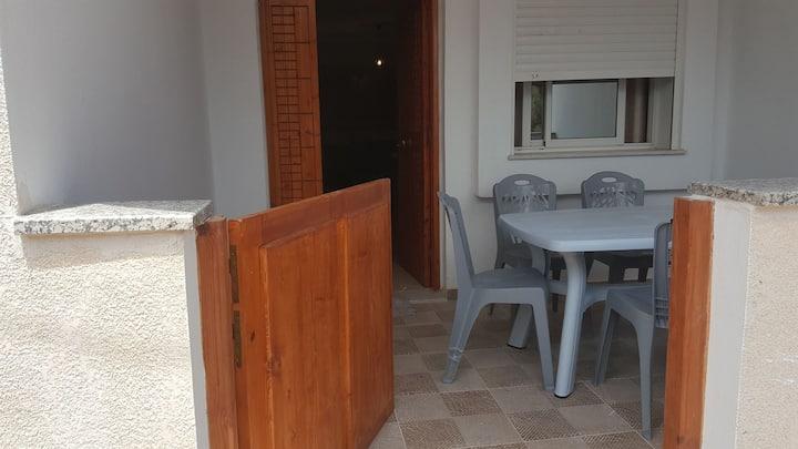 maison meublé à louer au bord de la mer