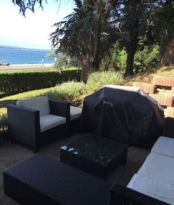Spacious Room with lake view - Cologny
