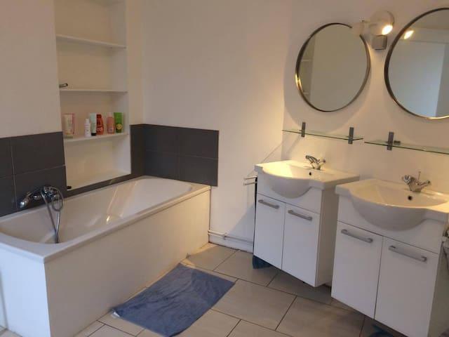 Appartement spacieux  et calme Liège - Liège - Lägenhet