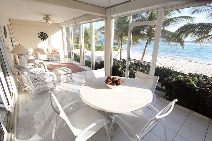 Coral Bay Direct Beachfront Villa
