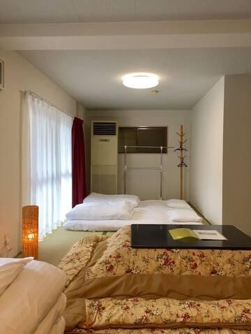 M-202 Heights Matsukawa, comfortable tatami room!