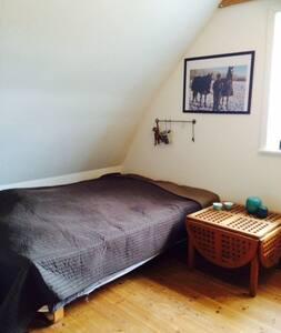 Stort værelse 5 km uden for Lemvig, - Lemvig - Apartmen