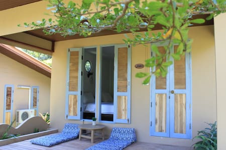 Privacy bungalow # twin bedroom - Pai - บ้าน
