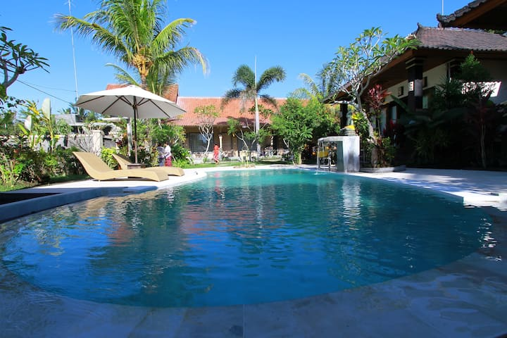 pool at other property can be use