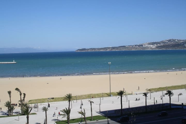 sea view apartment in the heart of tangiers
