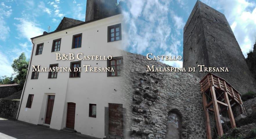 B&B Castello Malaspina Tresana-Camera FrancescoG.