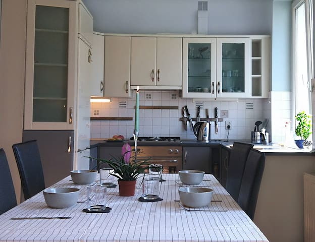 Apartment close to the city centre and the beach.