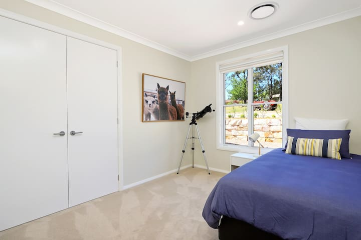 The Alpaca Room features up to 2 Single beds.