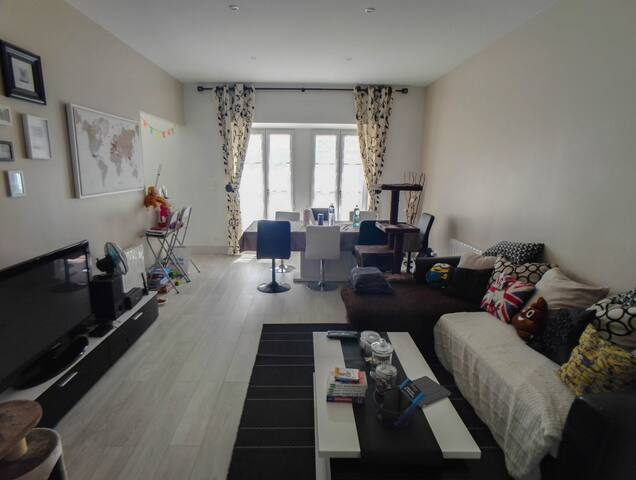 Bel appartement de 80m², 5min du Futuroscope