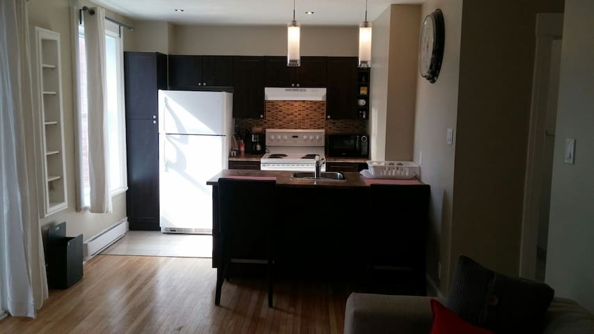 Bright,cozy,quiet,walking distance metro ,park ... - Montréal - Flat