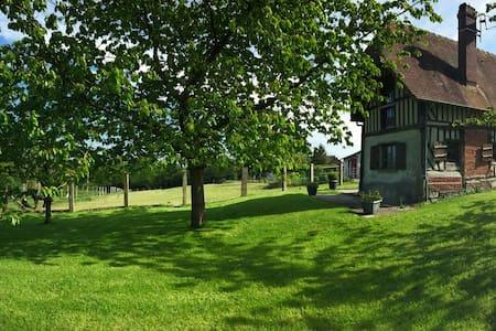 """Gîte de la Chesnée """" Le Cottage"""" - Glanville - Ferienunterkunft"""