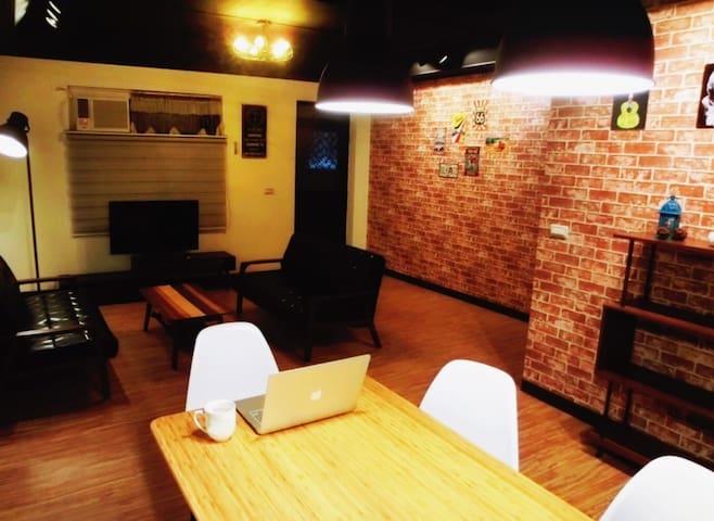 101商圈/MRT 1min /U-BIKE/ (4人)-B房 - Nangang District - Dům