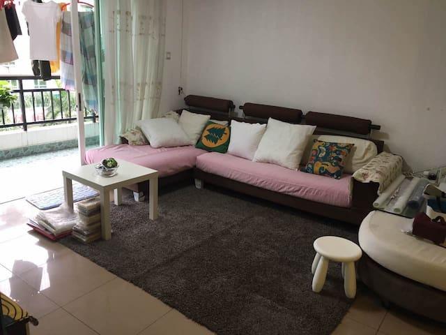 交通方便的小区房,闹市中的宁静,家的感觉 - ShenZhen - Appartamento