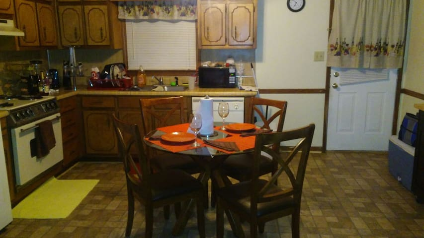 Clean Neat Bachelor pad Huge bdrm. - Stockbridge - Appartement