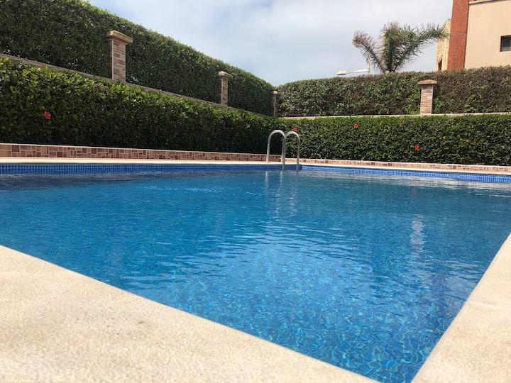 Villa tamaris with private pool and beachview ☀️ 🏖